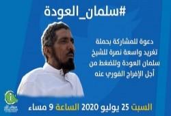 مطالبات بالحرية للشيخ سلمان العودة.. وبراءة 19 والسجن 5 سنوات لـ2 وتجديد حبس 76 بهزليات اليوم