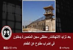 """إضراب مفتوح لمعتقلي """"المنصورة العمومي"""" و6 شهور لـ14 معتقلا شرقاويا"""
