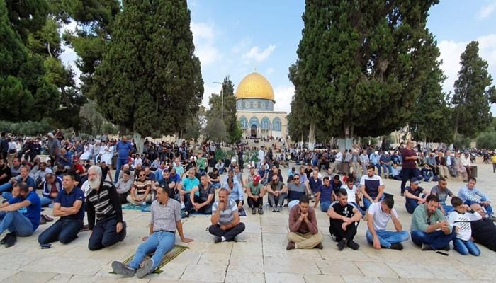 """""""حماس"""": في يوم عرفة فلتكن وقفتنا في ساحات المسجد الأقصى المبارك"""