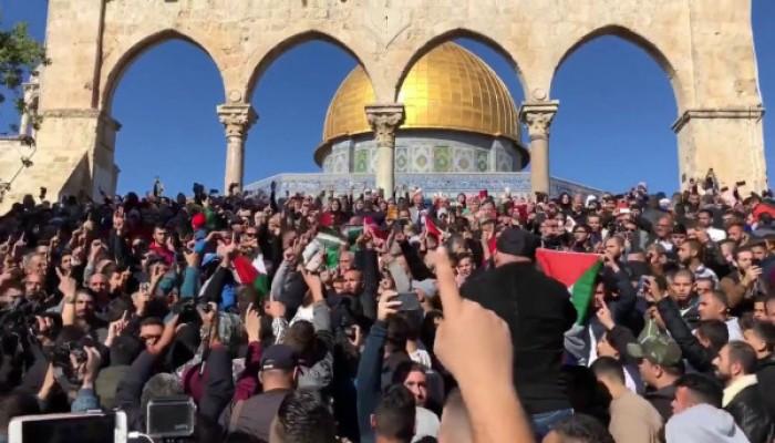 """17 هيئة ومنظمة إسلامية تدعو لحراك يناصر """"الأقصى"""" ويرفض مؤامرات الصهاينة"""