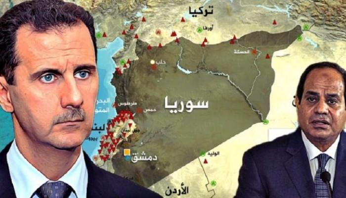 """الربيع العربي.. السيسي يشارك """"إيران"""" دعم """"الأسد"""" عسكريا وعقوبات أمريكية بحق حفتر"""