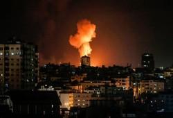 غارات صهيونية على جنوب قطاع غزة