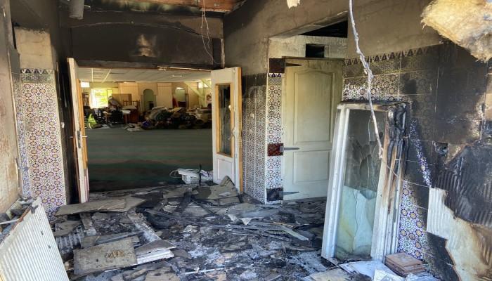 """دعوات للاحتجاج على حرق مسجد عمر بـ""""ليون"""" فرنسا"""