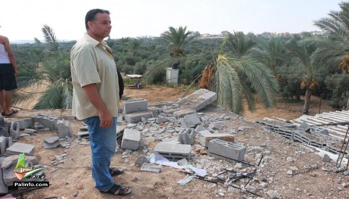"""الاحتلال الصهيوني يقصف مواقع لـ""""حماس"""" بقطاع غزة"""