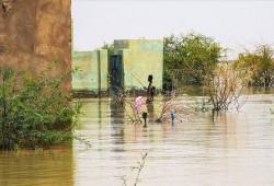 جراء السيول.. قطع طريق رئيسي بين ولايتين بالسودان