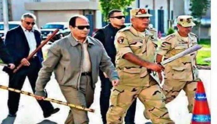 """ملف المعتقلين  """"رقابة"""" جديدة بأوامر السيسي على المعارضين و60 محاميا معتقلا بسجونه"""