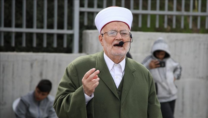 خطيب الأقصى محرّمًا غناء النشيد الوطني الصهيوني: آثمٌ من يردده من المسلمين