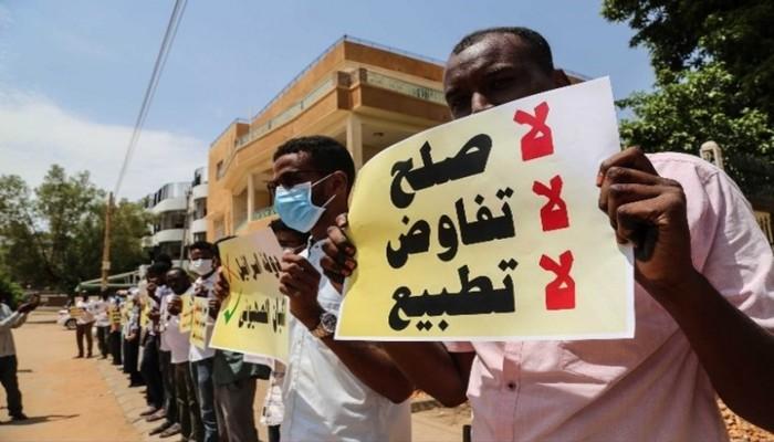 """من السودان إلى الأردن.. وقفات احتجاجية """"ضد التطبيع"""""""