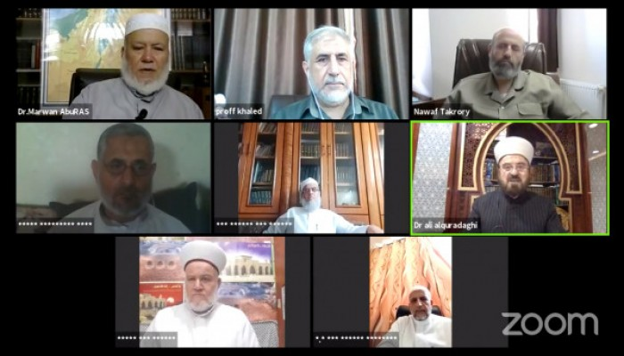 لقاء علمائي دولي حول التطبيع بمشاركة رابطة علماء فلسطين
