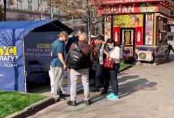 مشروع الخيمة الدعوية.. جديد مسلمي أوكرانيا للتعامل مع فئات المجتمع