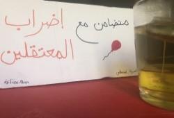 استمرار إضراب طرة ومطالبات بالحرية لعلا و3 أشقاء مختفين قسريا والحياة لإسلام