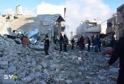 هيومن رايتس: تحالف (الأسد - الروس) ألحق أضرارا بــ 3 ملايين مدني بإدلب