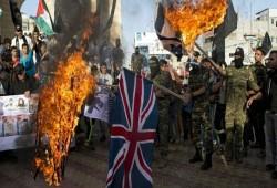 فلسطينيون يقاضون بريطانيا بسبب وعد بلفور أمام محكمة بنابلس
