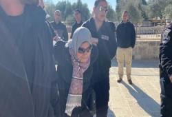 فلسطين.. عشرات المغتصبين يدنسون الأقصى واعتقال شابين والحكم على مرابطة بالسجن
