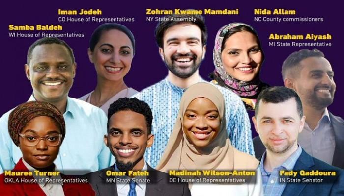 57 نائبا مسلما في الكونجرس ومجالس الولايات في الانتخابات الأمريكية