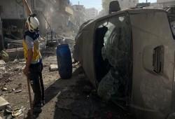 منظمة حقوقية: 10 آلاف مدني ضحايا التفجيرات في سوريا خلال 9 سنوات