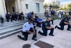 شرطة نيويورك تتقاعس بالقبض على معتدية على عائلة عربية وتسبّ المسلمين