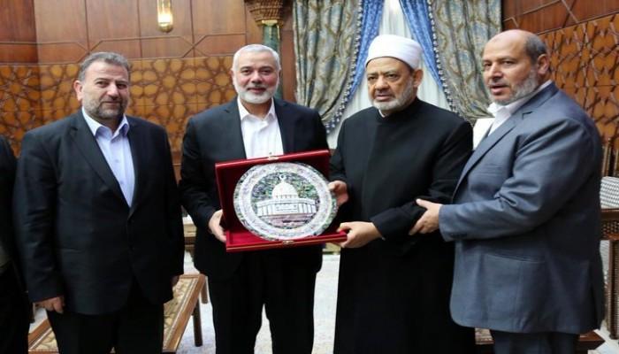 """بعد رفض """"الأزهر"""" الاستيطان.. """"حماس"""": دور إماراتي مشبوه بدعم المغتصبين"""