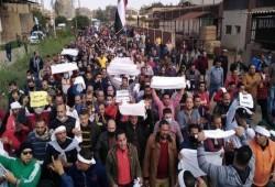 """مسيرات حاشدة للعاملين بـ""""سماد طلخا"""" للإفراج عن زملائهم المعتقلين"""