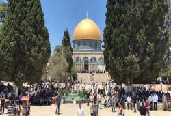 حماس: مخططات الاحتلال حول قبة الصخرة تنذر بإشعال المنطقة