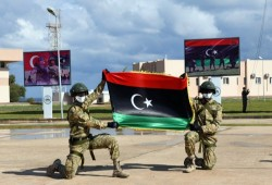 خبراء أتراك يواصلون تدريب الجيش الليبي