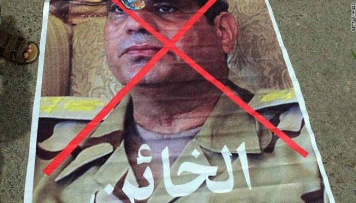 """أبو العينين يفضح بـ """"الخطأ"""" خيانة السيسي في الانقلاب على الرئيس مرسي"""