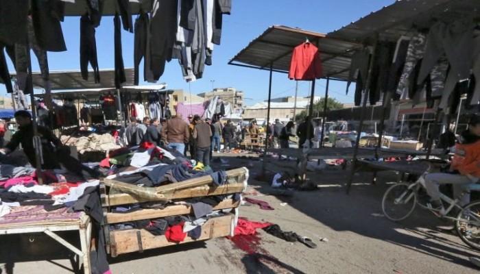 العراق ينزف.. 32 قتيلا وعشرات الجرحى بتفجير مزدوج وسط بغداد