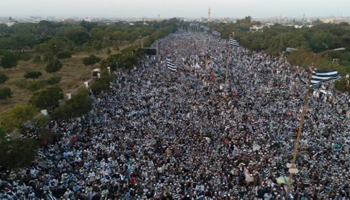باكستان.. مسيرة مليونية رفضا للتطبيع مع الكيان الصهيوني