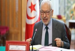 """تونس.. الغنوشي يؤكد على حق التظاهر السلمي """"دون تخريب"""""""