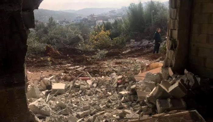 الاحتلال الصهيوني يهدم منزل عائلة حارس الأقصى فادي عليان
