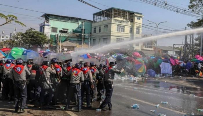 دعوة إلى إضراب عام ضد الانقلاب العسكري في ميانمار