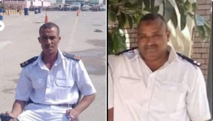 أمين شرطة يقتل زميليه بسلاحه الميري في بني سويف