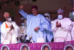أبو عزوم أول عربي يفوز برئاسة النيجر