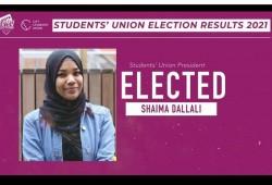 شيماء دلالي أول طالبة محجبة ترأس اتحاد جامعة لندن