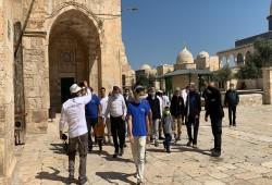 274 صهيونيا يقتحمون المسجد الأقصى