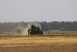 توغل صهيوني وسط قطاع غزة