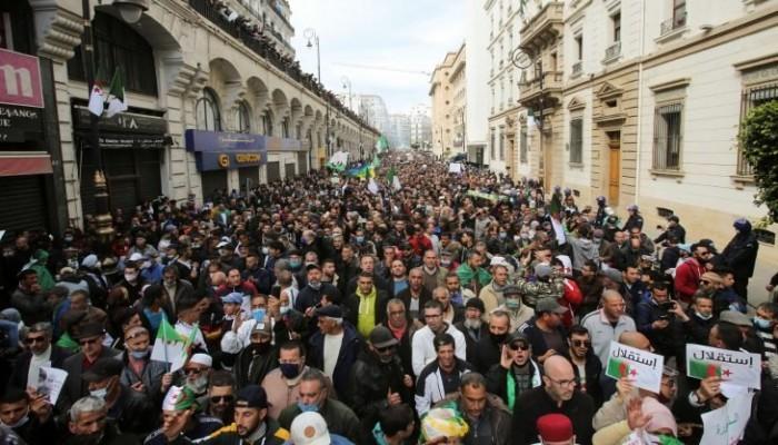 """الجزائر.. مظاهرات جديدة للحراك الشعبي باسم """"جمعة الوحدة"""""""