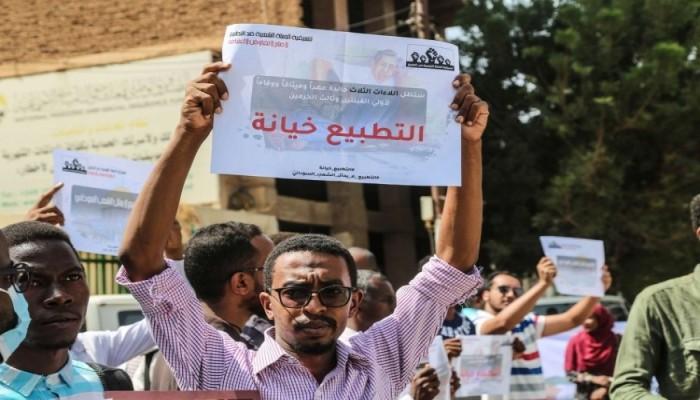 24 حزباً سودانياً يعلنون رفضهم للتطبيع مع الصهاينة وإلغاء قانون المقاطعة