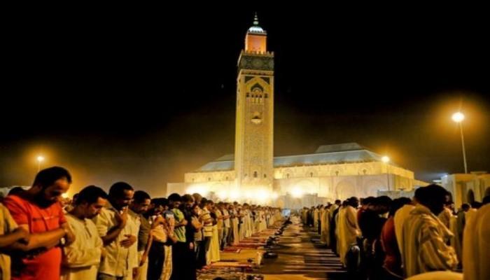 نويت الصلاة في رمضان