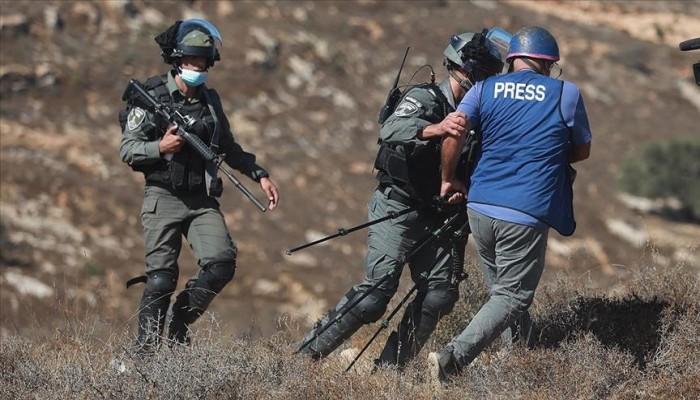 778 انتهاكا صهيونيا ضد الصحفيين الفلسطينيين