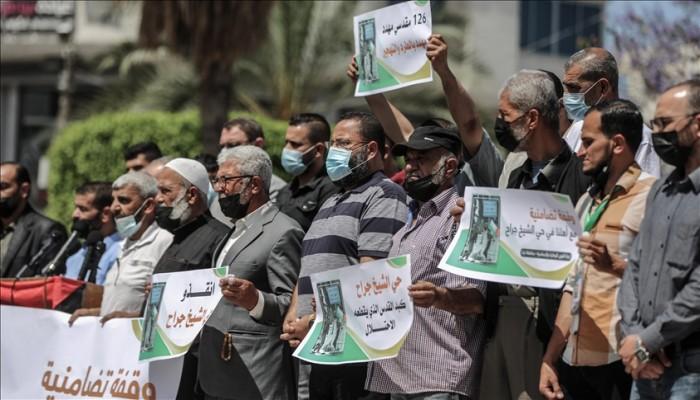 غزة.. وقفة تضامنية مع القدس ونصرة للمسجد الأقصى