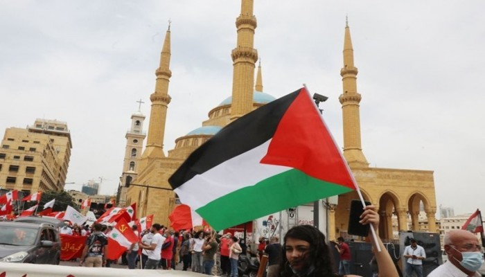 مظاهرات حاشدة في لبنان تضامنا مع القدس