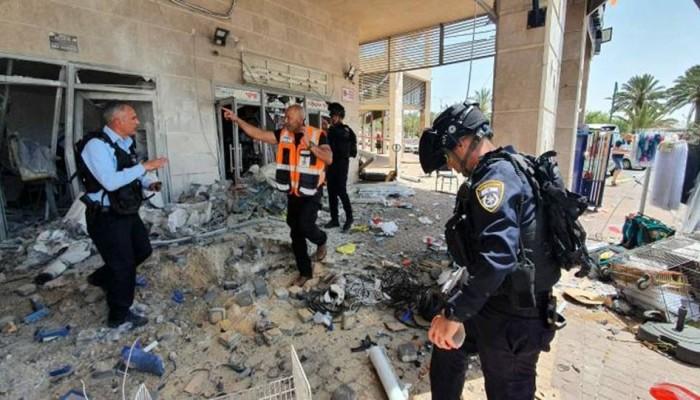 العدو الصهيوني تحت جحيم صواريخ المقاومة.. قتيلان و80 إصابة