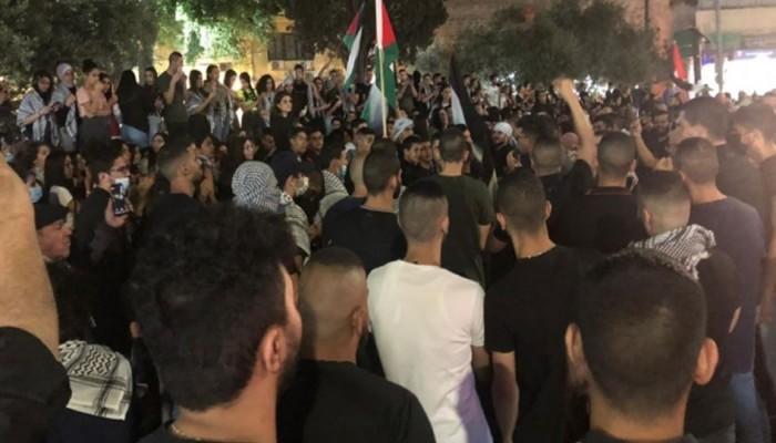 انتفاضة عارمة في الداخل الفلسطيني المحتل نصرة للأقصى ودعماً لغزة
