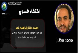 754 يوما من الإخفاء القسري بحق الشاب محمد نصر من الشرقية