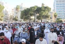 """""""عيدنا نصرة للأقصى"""".. رسالة من الأردن إلى فلسطين"""