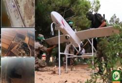 """""""القسام"""" تستخدم الطائرات المسيرة في ضرب مواقع جيش الاحتلال"""