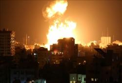 استشهاد أب وأولاده الثلاثة في قصف صهيوني غادر بغزة
