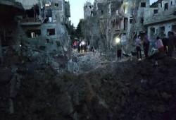 ارتفاع حصيلة العدوان على غزة إلى 122 شهيدا و 900جريح