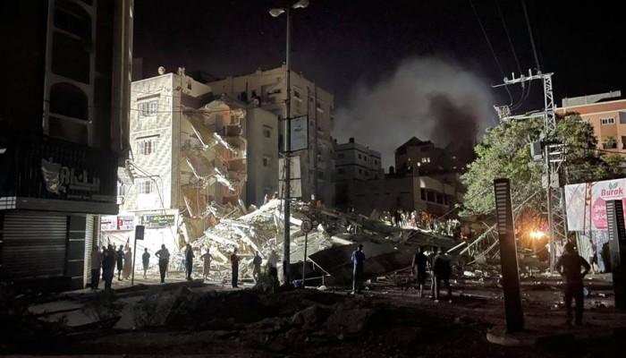 في اليوم السابع للعدوان على غزة.. 174 شهيدًا منهم 47 طفلا و29 سيدة